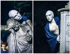 by olivia weigelt Four Square, Make Up, Statue, Art, Makeup, Kunst, Sculpture, Bronzer Makeup, Art Education