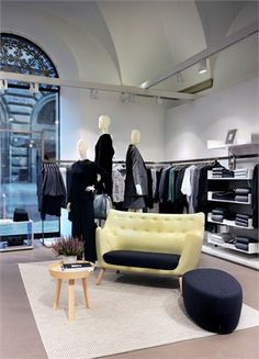 """Marie Honda tells Dezeen about COS' various collaborations and how the """"non-advertising brand"""" is using design as a promotional tool. Cos Stores, Honda, Store Image, Store Interiors, Modern Shop, Dezeen, Window Design, Retail Design, Visual Merchandising"""