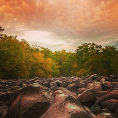 """Stunning view of Ringing Rocks Park captured by @_kgsphoto on Instagram as part of our """"Capture Your #BucksCountyMoment"""" photo contest."""