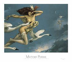 Night Flight by Michael Parkes