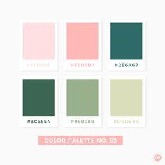 Succulents Color Palette No.