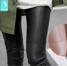 Cheap Sexy nuevas mujeres de la moda de imitación de café Negro polainas de cuero sólidos LEGGIN más los pantalones del tamaño de la muchacha del envío libre, Compro Calidad Leggings directamente de los surtidores de China:                                                                   Antes de hacer un pedido, por favor consult