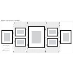 Picture Frame Layout, Picture On Wood, Picture Wall, Photo Wall Layout, Picture Frame Placement, Picture Frames, Wall Frame Layout, Picture Collages, Picture Hangers