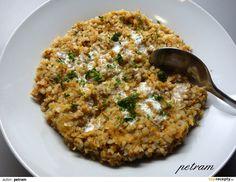 Vegan Vegetarian, Vegetarian Recipes, Healthy Recipes, Polenta, Quinoa, Risotto, Mashed Potatoes, Health Fitness, Low Carb