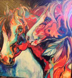 Albuquerque Old City Art Horses