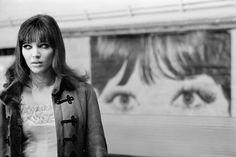 Bruno Barbey, Anna Karina, Paris, France, 1966