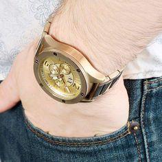 ARMANI EXCHANGE Champagne Dial Chronograph Men's Watch AX1504