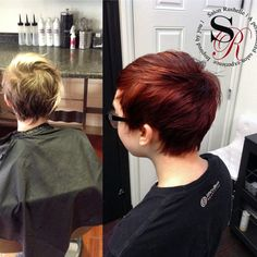 Before and after cut and color by Sarah❤️