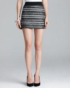 Milly Skirt - Ribbon Mini Tweed