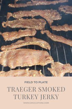 TRAEGER SMOKED TURKEY JERKY