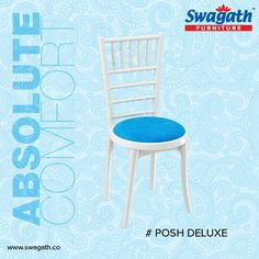 Posh Deluxe #chair from Swagath's exclusive range of #furniture is the sheer example of absolute comfort and luxury. Get more information at www.swagath.co !!
