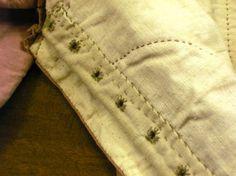muslin puuvilla esiliina kirjailtu kohta Beauvais sitten myöhäisempireä