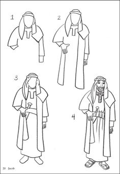 How to Draw Bible Figures | Additional photo (inside page)