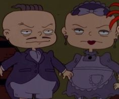 And also wear these cool outfits in themed episodes.   Phil And Lil DeVille Are Hands Down The Greatest Twins In TV History
