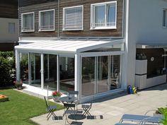 La Véranda Agate par Yvazur Extension Veranda, Agate, Hygge, Terrace, Pergola, Outdoor Decor, Extensions, Couture, Home Decor