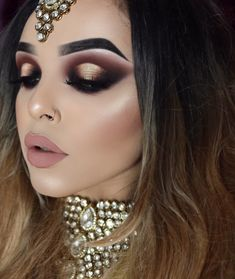ASIAN BRIDAL WITH SOFT GLAM PALETTE @anastasiabeverlyhills ✨ More makeup deets @plouise_makeup_academy The Base @crystaleyesuk Aalia…
