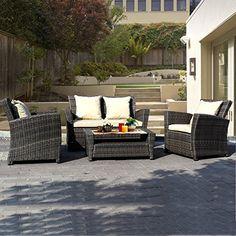 Goplus® 4 PCS Brown Wicker Cushioned Rattan Patio Set Garden Lawn Sofa Furniture Seat Super buy http://www.amazon.com/dp/B01549D8S2/ref=cm_sw_r_pi_dp_wZUBwb0045MXN