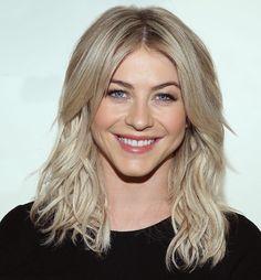Julianne Hough blonde hair color idea