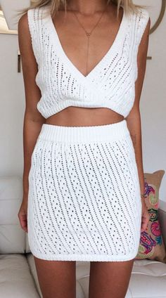 Cropped knits