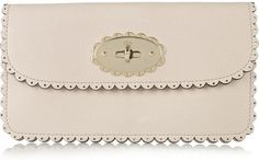 Mulberry Cookie Leather Wallet