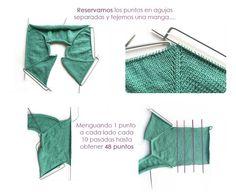 Cómo+tejer+una+rebeca+de+bebé+de+punto