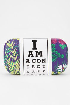 Printed Contact Lens Case