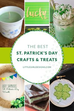 The Best St. Patrick's Day Treats and Crafts @littlegirldesigns.com