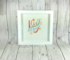 Nursery Wall Art, Custom Art, Watercolour Lettering, Watercolour Name, Typography Art, Nursery Decor, Watercolour Art, Christmas by SimplyQuirkyArts on Etsy