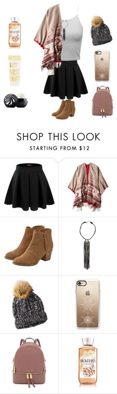"""""""Cold?"""" by basketball11-123 ❤ liked on Polyvore featuring Doublju, American Eagle Outfitters, Casetify, ban.do and Eos"""