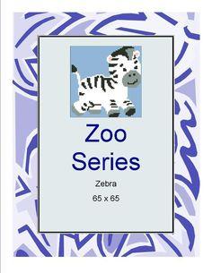 (4) Name: 'Crocheting : Zebra
