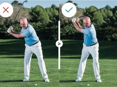 How To Hit Every Club In The Bag - Different clubs and shots require a different set-up and approach. Here are the basics from driver right down to putter Types Of Shots, Golf Instructors, Along The Lines, Chipping Tips, Social Media Channels, Golf Tips, Club, Bag, Golf Trainers
