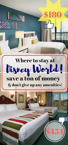 Where to stay in Disney World on a budget! Disney Family Vacation // Tips and Tricks for Disney // Traveling with kids // Disney World on a budget // Disney with Toddlers // Walt Disney World // Preparing for Disney // Orlando Hotels for Cheap //