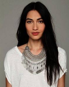 Afghan Silver Jewelry  Cream White