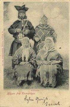 Sami Lapps Laplanders (1902) Norway www.picclick.com