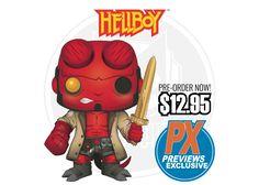 Hellboy Liz Sherman Reaction figure Wave 1 édition limitée SciFi Horror Gothique