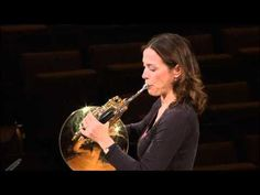 Berliner Philharmoniker Master Class for the 2011 YouTube Symphony Orchestra - Sarah Willis demonstrates the horn solos for Beethoven's Symphony No. 9 and Strauss's /Till Eulenspiegels lustige Streiche/. Take note: One technique that she addresses is opening the hand for the lowest notes to keep them from sounding muffled and flat! -SP