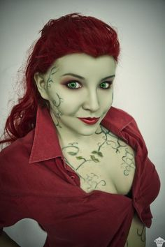 Poison Ivy cosplay from Batman:Arkham Asylum by The Puddins' Cosplay