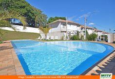 Paisagismo do Cosabella. Condomínio fechado de apartamentos localizado em Campinas / SP.