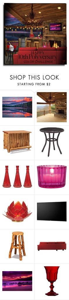 """""""Happy 10th Polyvore!!"""" by craftygeminicreation ❤ liked on Polyvore featuring interior, interiors, interior design, home, home decor, interior decorating, DutchCrafters, Crosley, Cultural Intrigue and Toshiba"""