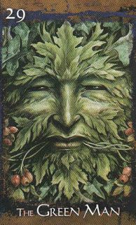 The Oak King: In some Pagan traditions, mock battles are enacted at the winter…