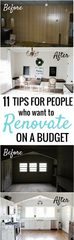 How She Renovated And Decorated Her Home On A Budget Is SO COOL! Iu0027