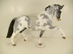 TOP LSQ Gorgeous, NAN'd #Breyer Totilas Custom CM by Hoscheid Blue roan pinto