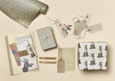 Nostalgic Collage & Vintage Pattern collections from Katie Leamon