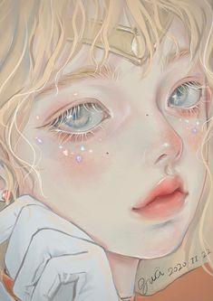 Anime Girl Drawings, Anime Art Girl, Cute Drawings, Pretty Art, Cute Art, Aesthetic Art, Aesthetic Anime, Nagisa Shiota, Digital Art Girl