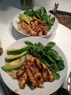 119 Best Dinner but make it healthy images in 2019 Healthy Meal Prep, Healthy Snacks, Healthy Eating, Think Food, I Love Food, Diet Recipes, Cooking Recipes, Healthy Recipes, Recipes Dinner