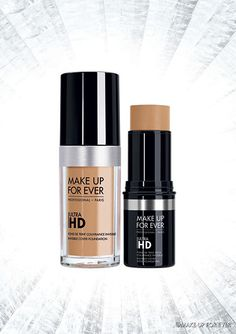 New Ultra HD Foundation and Ultra HD Stick Foundation by MAKE UP FOR EVER