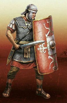 Legionary, The Roman Empire Ancient Rome, Ancient History, Soldado Universal, Imperial Legion, Roman Armor, Roman Sword, Rome Antique, Roman Warriors, Roman Legion