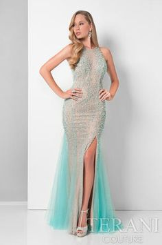 Shop Terani designer prom gowns and elegant evening dresses at PromGirl. Little black dresses, red dresses, and sexy cocktail dresses by Terani. Terani Couture, Evening Dresses, Formal Dresses, Wedding Dresses, Mermaid Gown, Mermaid Skirt, Perfect Prom Dress, Gowns Online, Designer Gowns