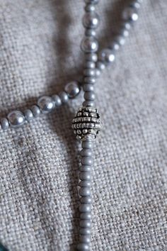 Grey Color Pearls