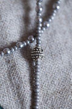 Grey Color Pearls